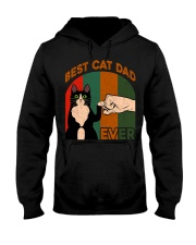 Best Cat Dad Ever T-Shirt Hooded Sweatshirt thumbnail