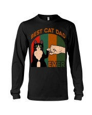 Best Cat Dad Ever T-Shirt Long Sleeve Tee thumbnail