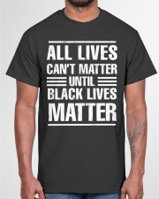 Black Lives Matter Shirt Classic T-Shirt garment-tshirt-unisex-front-03