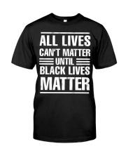 Black Lives Matter Shirt Premium Fit Mens Tee thumbnail