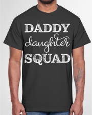 Dad Daughter Matching Gift Group Father Classic T-Shirt garment-tshirt-unisex-front-03