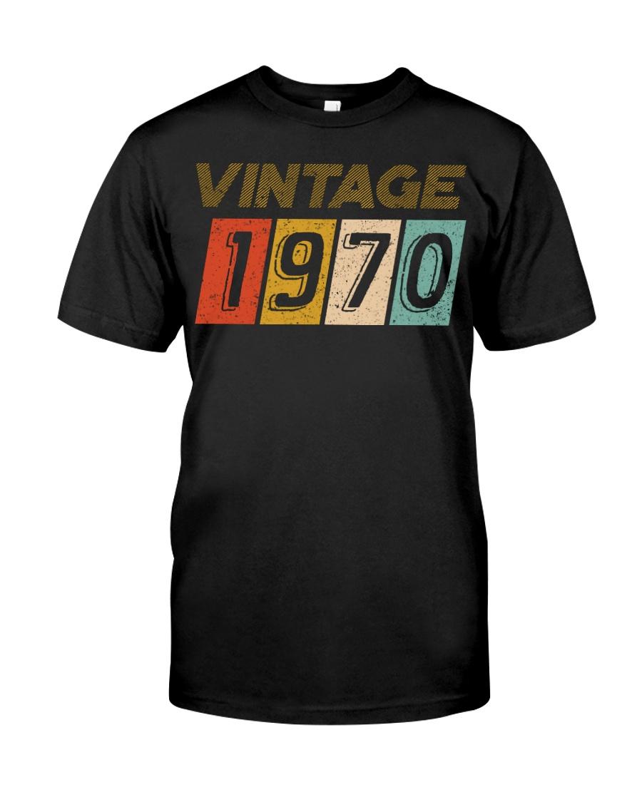 50th Birthday Gift Idea Vintage 1970 Classic T-Shirt