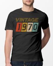 50th Birthday Gift Idea Vintage 1970 Classic T-Shirt lifestyle-mens-crewneck-front-13
