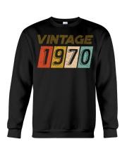 50th Birthday Gift Idea Vintage 1970 Crewneck Sweatshirt thumbnail