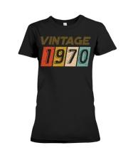 50th Birthday Gift Idea Vintage 1970 Premium Fit Ladies Tee thumbnail