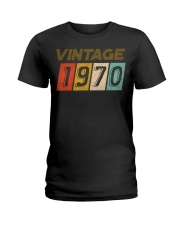 50th Birthday Gift Idea Vintage 1970 Ladies T-Shirt thumbnail
