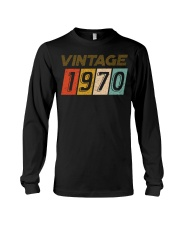 50th Birthday Gift Idea Vintage 1970 Long Sleeve Tee thumbnail