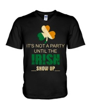 It's Not A Party Until The Irish V-Neck T-Shirt thumbnail