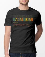 The Dadalorian Definition Like A Dad Classic T-Shirt lifestyle-mens-crewneck-front-13