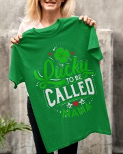 St Patrick's Day Lucky Nana Classic T-Shirt apparel-classic-tshirt-lifestyle-front-117