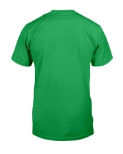 St Patrick's Day With Peace Love Shamrock Classic T-Shirt back