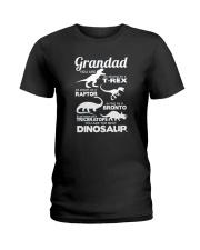 Grandad Dinosaur Ladies T-Shirt front
