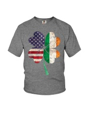Flag  Shamrock St Patrick - Cute - Funny Youth T-Shirt tile