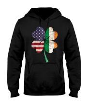 Flag  Shamrock St Patrick - Cute - Funny Hooded Sweatshirt tile