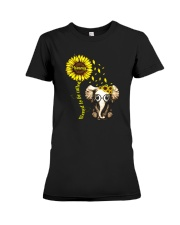 Blessed To Be Called Mommy Premium Fit Ladies Tee tile