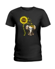 Blessed To Be Called Mommy Ladies T-Shirt front