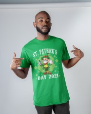 St Patrick's Day With Vaccine Classic T-Shirt apparel-classic-tshirt-lifestyle-front-32