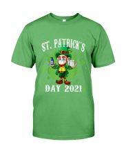 St Patrick's Day With Vaccine Premium Fit Mens Tee tile