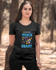 I'm His Voice He Is Mr Heart Ladies T-Shirt apparel-ladies-t-shirt-lifestyle-05