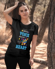 I'm His Voice He Is Mr Heart Ladies T-Shirt apparel-ladies-t-shirt-lifestyle-06