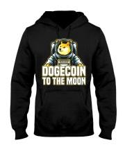 Dogecoin Astronaut Hooded Sweatshirt tile