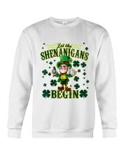 Shennanigans Patrick Saint - Cute Funny Crewneck Sweatshirt tile