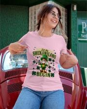 Shennanigans Patrick Saint - Cute Funny Ladies T-Shirt apparel-ladies-t-shirt-lifestyle-01