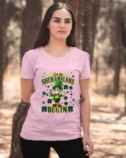 Shennanigans Patrick Saint - Cute Funny Ladies T-Shirt apparel-ladies-t-shirt-lifestyle-05
