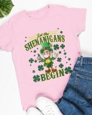 Shennanigans Patrick Saint - Cute Funny Ladies T-Shirt apparel-ladies-t-shirt-lifestyle-front-63