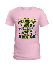 Shennanigans Patrick Saint - Cute Funny Ladies T-Shirt front