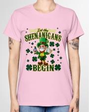 Shennanigans Patrick Saint - Cute Funny Ladies T-Shirt garment-tshirt-ladies-front-01