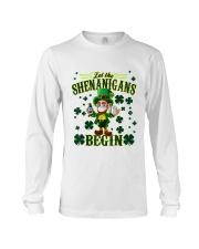 Shennanigans Patrick Saint - Cute Funny Long Sleeve Tee tile