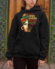 I'm An Aries Queen Hooded Sweatshirt apparel-hooded-sweatshirt-lifestyle-03