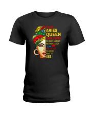I'm An Aries Queen Ladies T-Shirt tile