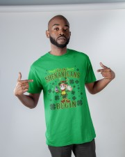 St Patrick's Day Let The Shenanigans Begin Classic T-Shirt apparel-classic-tshirt-lifestyle-front-32