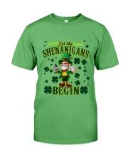 St Patrick's Day Let The Shenanigans Begin Premium Fit Mens Tee tile