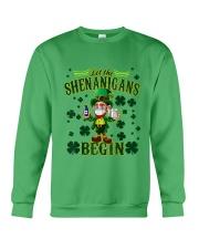 St Patrick's Day Let The Shenanigans Begin Crewneck Sweatshirt tile