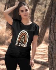 He Is Risen Ladies T-Shirt apparel-ladies-t-shirt-lifestyle-06