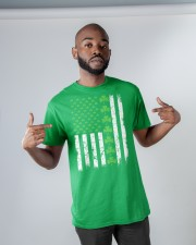 St Patrick's Day With Flag Classic T-Shirt apparel-classic-tshirt-lifestyle-front-32