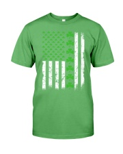 St Patrick's Day With Flag Premium Fit Mens Tee tile