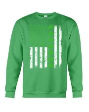 St Patrick's Day With Flag Crewneck Sweatshirt tile