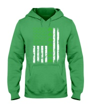 St Patrick's Day With Flag Hooded Sweatshirt tile
