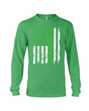 St Patrick's Day With Flag Long Sleeve Tee tile