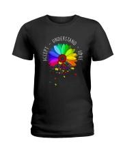 Accept - Understand - Love Ladies T-Shirt front