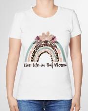 Live Life In Full Bloom Premium Fit Ladies Tee garment-premium-tshirt-ladies-front-01