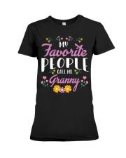 My Favorite People Call Me - Cute Shirts - Friends Premium Fit Ladies Tee tile