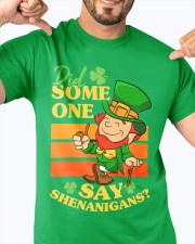 St Patrick's Day Did Some One Classic T-Shirt apparel-classic-tshirt-lifestyle-front-92