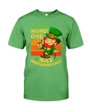 St Patrick's Day Did Some One Premium Fit Mens Tee tile
