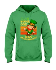 St Patrick's Day Did Some One Hooded Sweatshirt tile