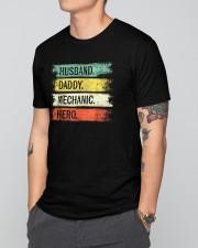 Husband - Daddy - Mechanic - Hero Classic T-Shirt apparel-classic-tshirt-lifestyle-front-166
